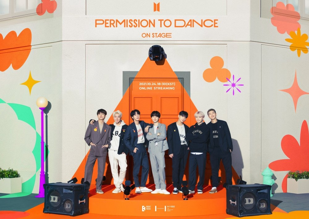 """Sao Hàn ngày 15/9: BTS công bố concert online năm 2021 """"Permission To Dance On Stage"""""""