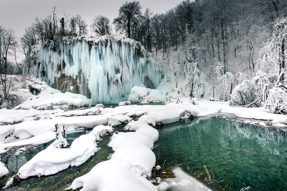 Ngắm nhìn khung cảnh thiên nhiên tuyệt đẹp khi mùa đông đến