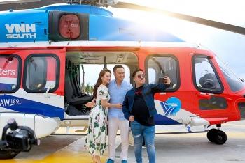 Từ TP HCM, Chi Bảo đáp máy bay tới Phan Thiết