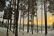 """Trải nghiệm khách sạn trên cây """"có một không hai"""" ở Thụy Điển"""