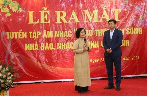 """Nhà báo, nhạc sĩ Đinh Văn Bình: Ra mắt tuyển tập âm nhạc """"Thao thức bên sông"""""""