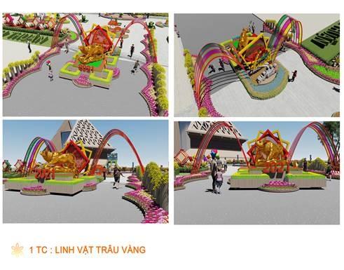 Ninh Thuận tổ chức Vườn hoa Xuân Tân Sửu - 2021
