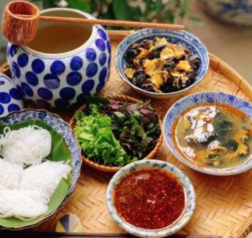 Bún Ốc nguội – Món ăn tinh tế của người Hà Thành