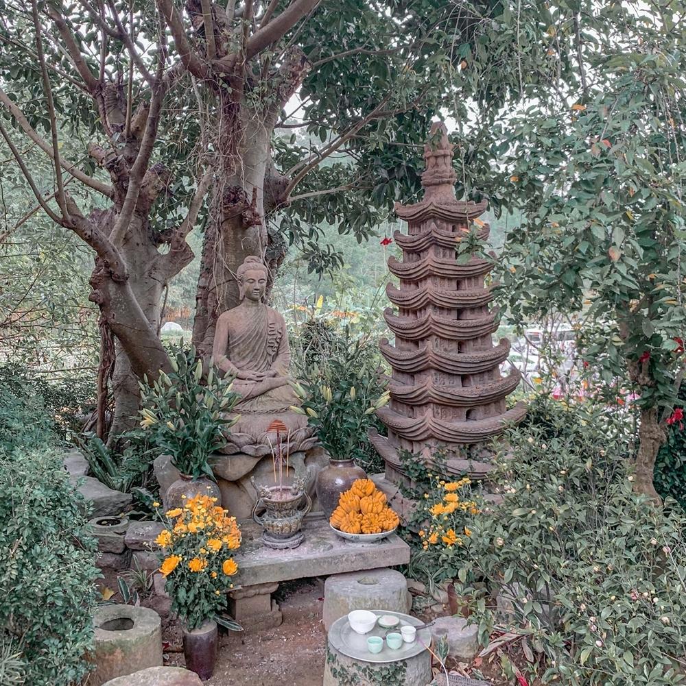 Đắm mình trong sự yên bình tại chùa Địa Tạng Phi Lai Tự