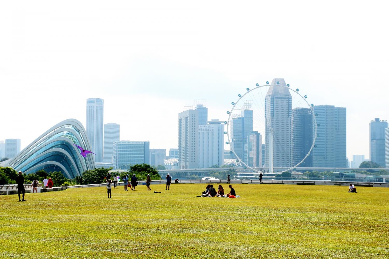 Singapore một màu xanh thẳm