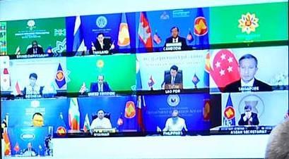 Đối thoại 3 bên mở rộng giữa các Bộ trưởng Ngoại giao ASEAN và Ngoại trưởng Anh