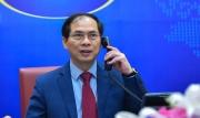 Bộ trưởng Ngoại giao các nước Lào, Campuchia và Indonesia điện đàm chúc mừng Bộ trưởng Bộ Ngoại giao Bùi Thanh Sơn