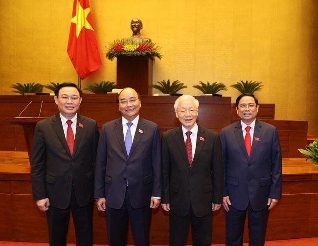 Các nước gửi thư, điện chúc mừng lãnh đạo cấp cao Việt Nam