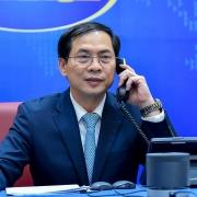 Bộ trưởng Ngoại giao Bùi Thanh Sơn điện đàm với Bộ trưởng (thứ hai) Bộ Ngoại giao của Brunei Darussalam