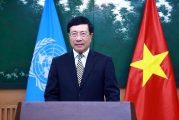 Phó Thủ tướng Phạm Bình Minh gửi thông điệp tới Khóa họp lần thứ 77 của UNESCAP
