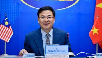 Đối thoại trực tuyến Chiến lược quan chức cấp cao Việt Nam - Malaysia