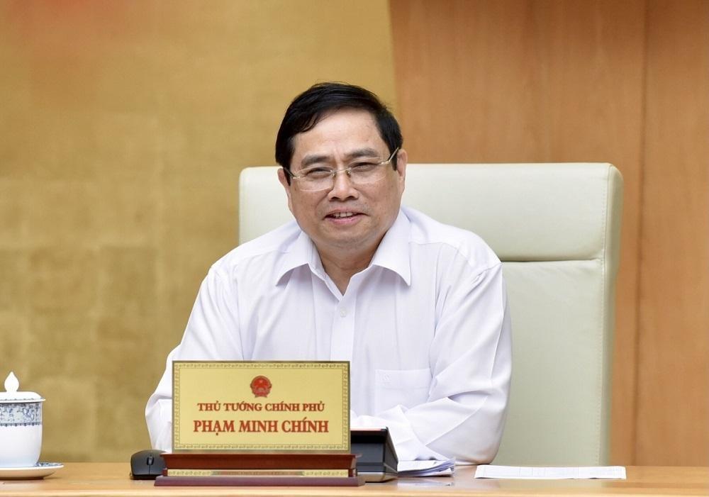 Thủ tướng Chính phủ Phạm Minh Chính gửi thư thăm hỏi Thủ tướng Lào