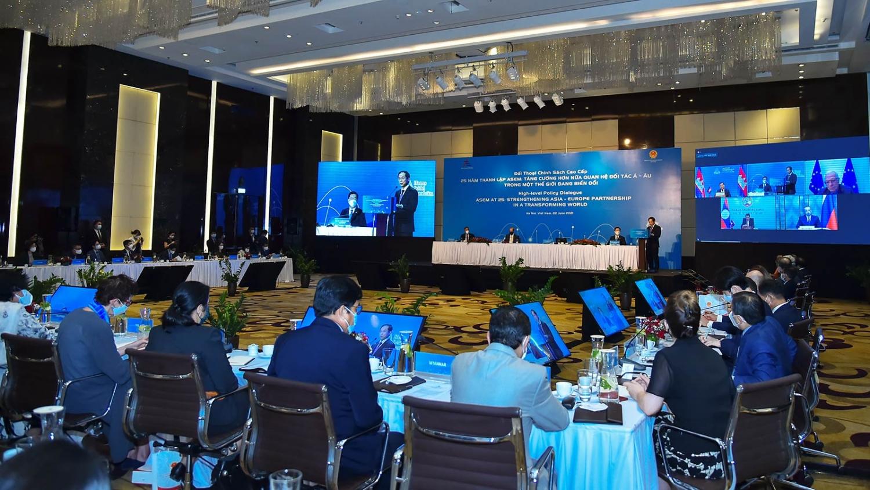 Đối thoại chính sách cao cấp Diễn đàn hợp tác Á - Âu (ASEM)