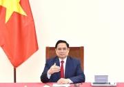 Thủ tướng Chính phủ Phạm Minh Chính điện đàm với Tổng Giám đốc Tổ chức Y tế thế giới