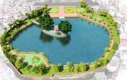Phục dựng tòa Phương đình và tôn tạo gò Kim Châu thuộc Hồ Văn, Văn Miếu - Quốc Tử Giám