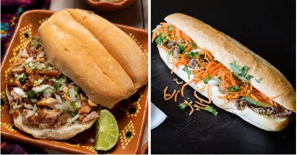 Top 6 loại sandwich ngon nhất thế giới, trong đó có bánh mì Việt Nam
