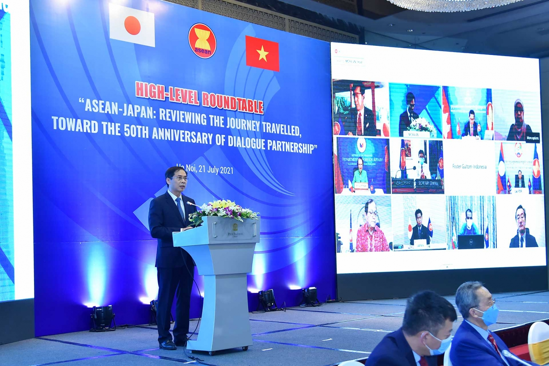 Nhìn lại chặng đường đã qua và hướng đến 50 năm quan hệ ASEAN - Nhật Bản
