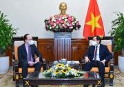 Bộ trưởng Ngoại giao Bùi Thanh Sơn tiếp Đại sứ Liên bang Nga tại Việt Nam Gennady Bezdetko
