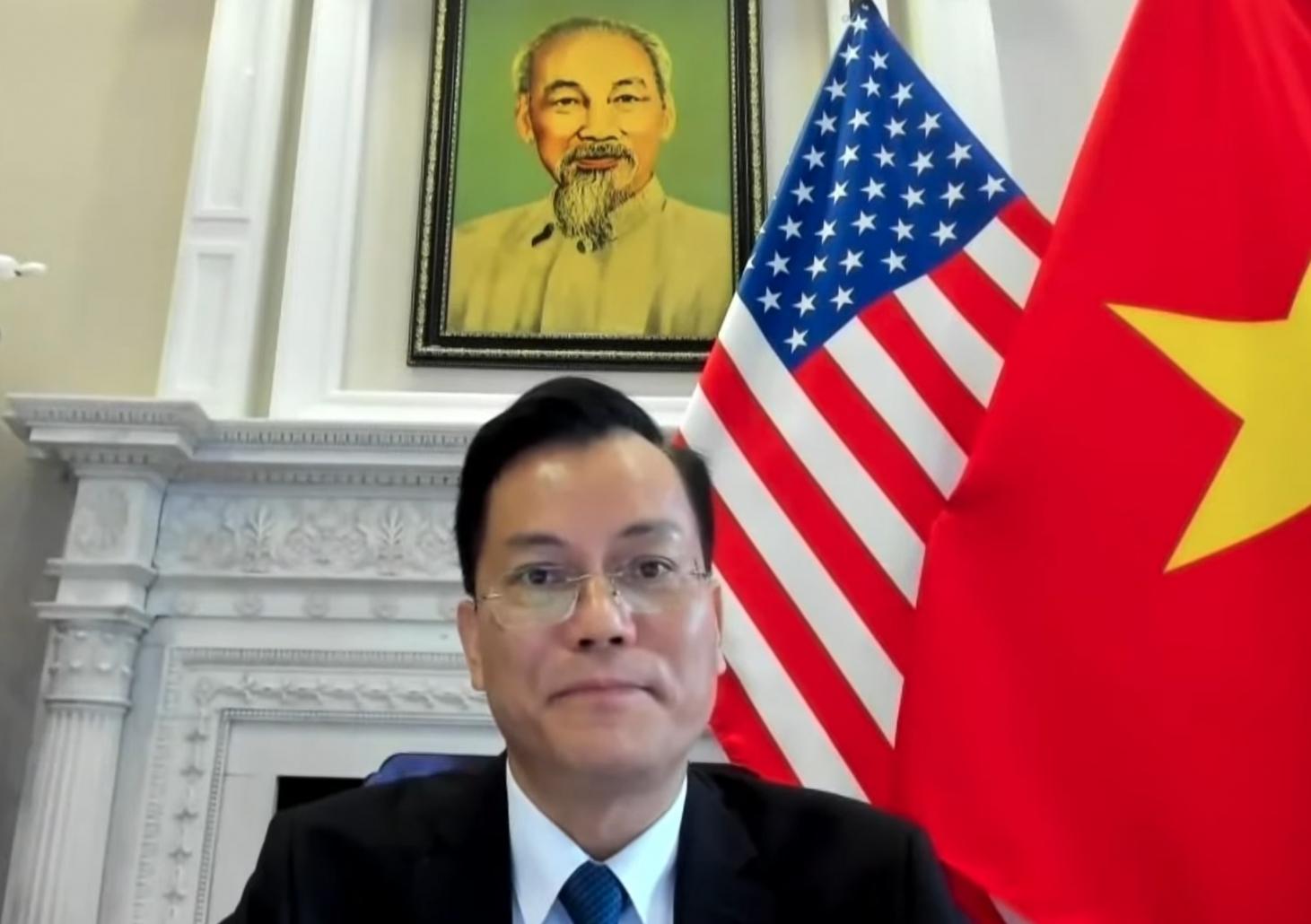 Đại sứ Hà Kim Ngọc dự hội thảo về khắc phục hậu quả chiến tranh do USIP tổ chức
