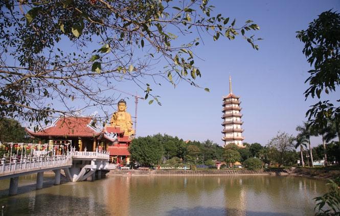 Chùa Khai Nguyên - Điểm nhấn của du lịch Sơn Tây