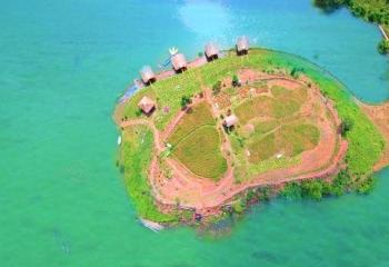 Hồ thủy điện sông Chừng - Điểm dừng chân lý tưởng