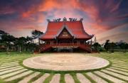 Ngắm khung cảnh bình yên của ngôi chùa lớn nhất Bảo Lộc
