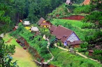 Cù Lần - Ngôi làng độc đáo dưới chân núi Langbiang hùng vĩ