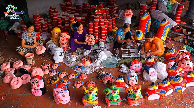 Làng ông Hảo – Nơi lưu giữ nghề làm đồ chơi trung thu truyền thống