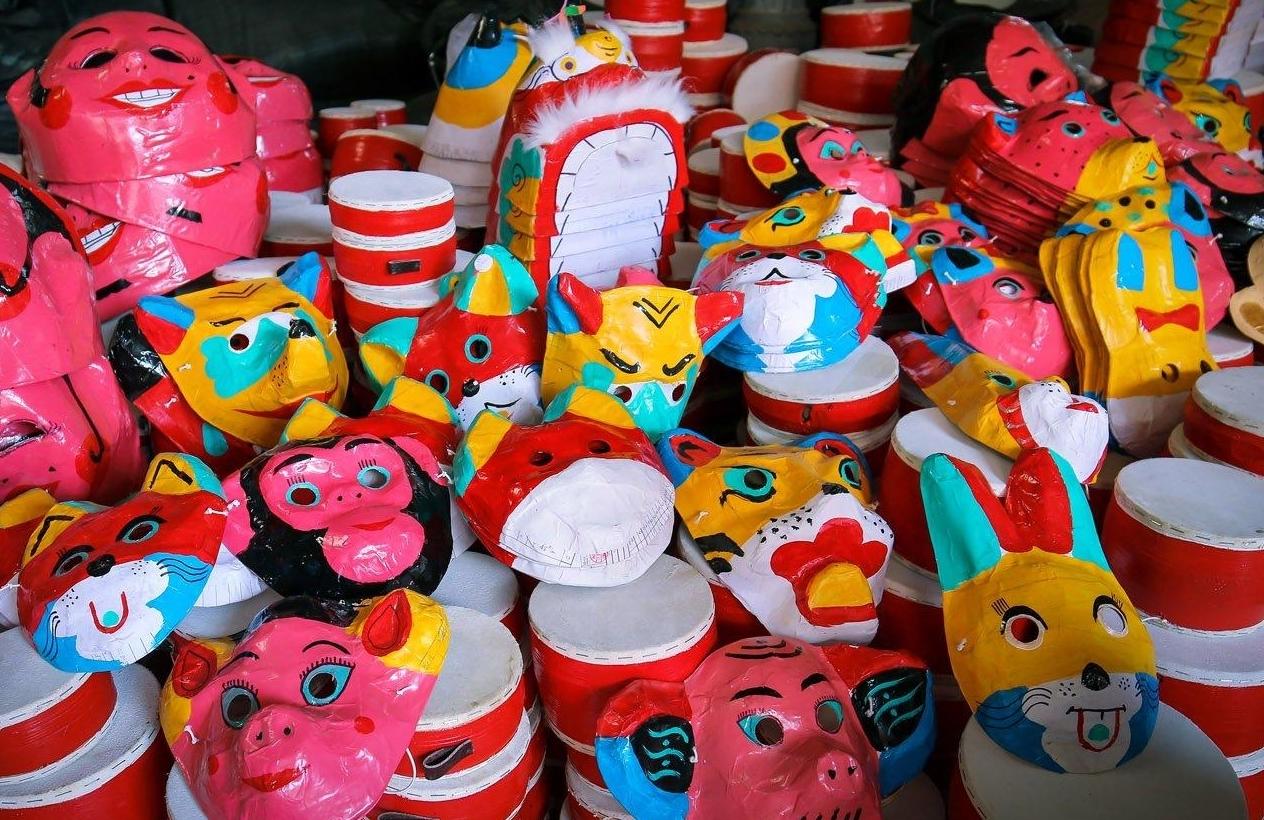 Làng Ông Hảo - Nơi lưu giữ nghề làm đồ chơi Trung thu truyền thống
