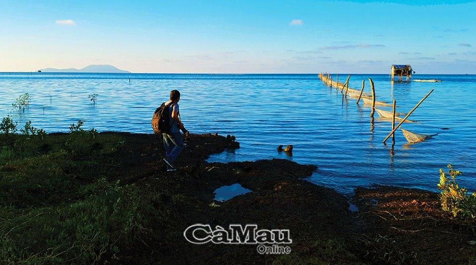 Yên bình sông nước Mũi Cà Mau