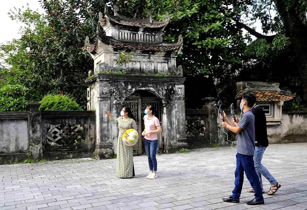 Khám phá Du lịch Ninh Bình qua hình thức kết nối trực tuyến