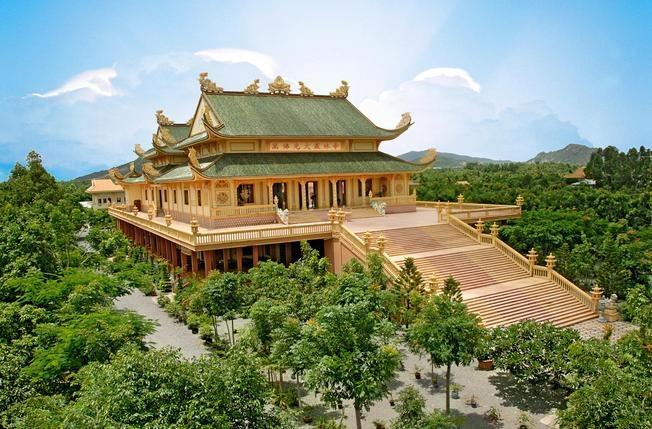 Toàn cảnh Chùa Vạn Phật Quang Đại Tòng Lâm