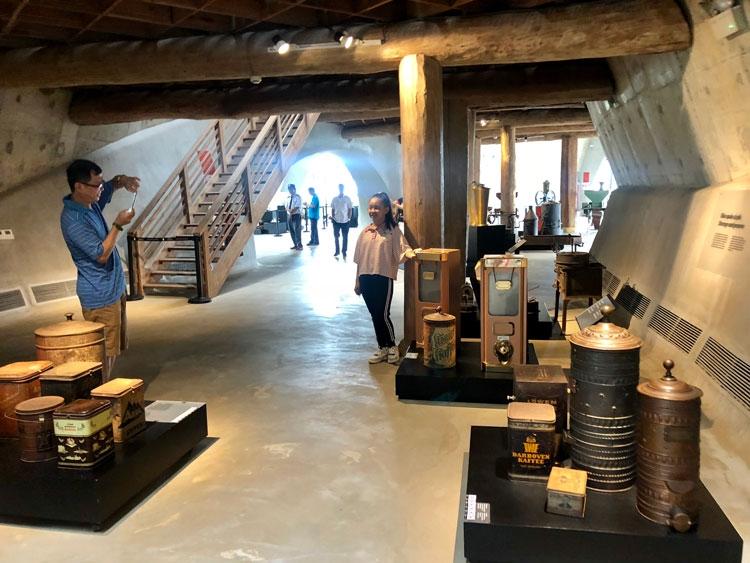 Khám phá bên trong Bảo tàng cà phê lớn nhất thế giới