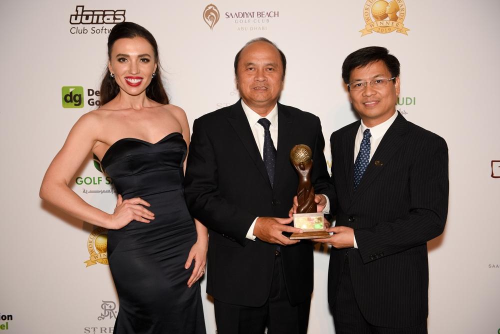 viet nam dat cu dup giai thuong tai world golf awards 2019