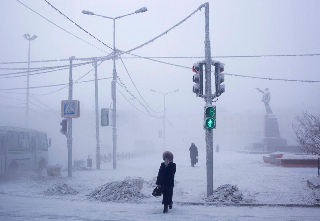 Cuộc sống ở nơi lạnh giá nhất thế giới