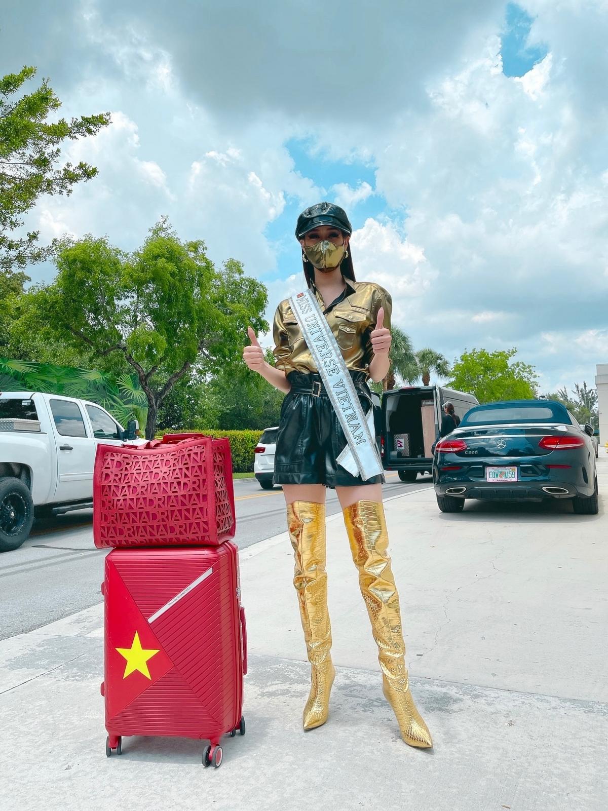 Khánh Vân được dự đoán giành vương miện Miss Universe