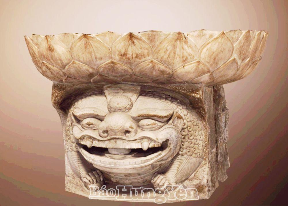 Tượng sư tử đá chùa Hương Lãng