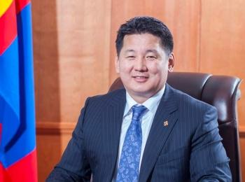 Điện mừng tân Tổng thống Mông Cổ