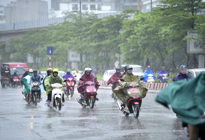 Thời tiết hôm nay 13/6/2021: Bắc Bộ và Bắc Trung Bộ mưa to