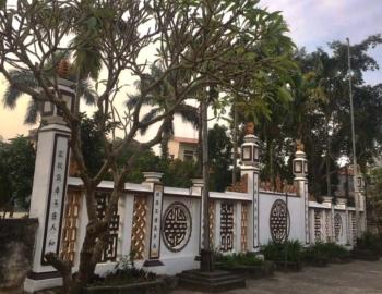 Về Ninh Bình ghé thăm ngôi đình Sào Long hơn 100 tuổi