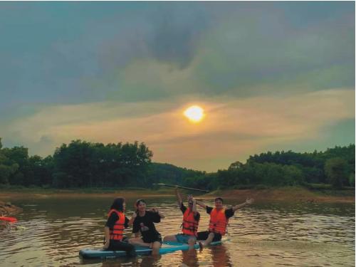 Du lịch cộng đồng - Điểm nhấn mới tại hồ Ghềnh Chè
