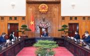 Thủ tướng Chính phủ Phạm Minh Chính tiếp Đại sứ Rumani