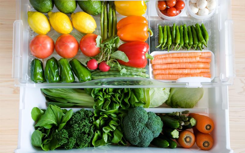 Mẹo bảo quản rau củ, trái cây cực hữu ích