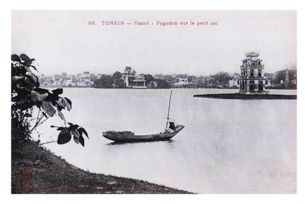 Tái hiện ký ức Hồ Gươm, giao lộ Đông - Tây xưa