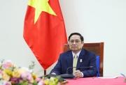 Thủ tướng Phạm Minh Chính điện đàm với Thủ tướng Liên hiệp Vương quốc Anh và Bắc Ai-len