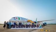 bamboo airways don may bay boeing 787 9 dreamliner mang ten quy nhon city