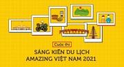 """Khởi động cuộc thi """"Sáng kiến Du lịch Amazing Việt Nam"""" năm 2021"""