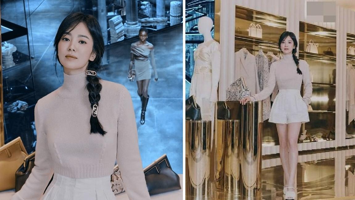 """Song Hye Kyo """"gây sốt"""" với visual trẻ trung tại sự kiện"""