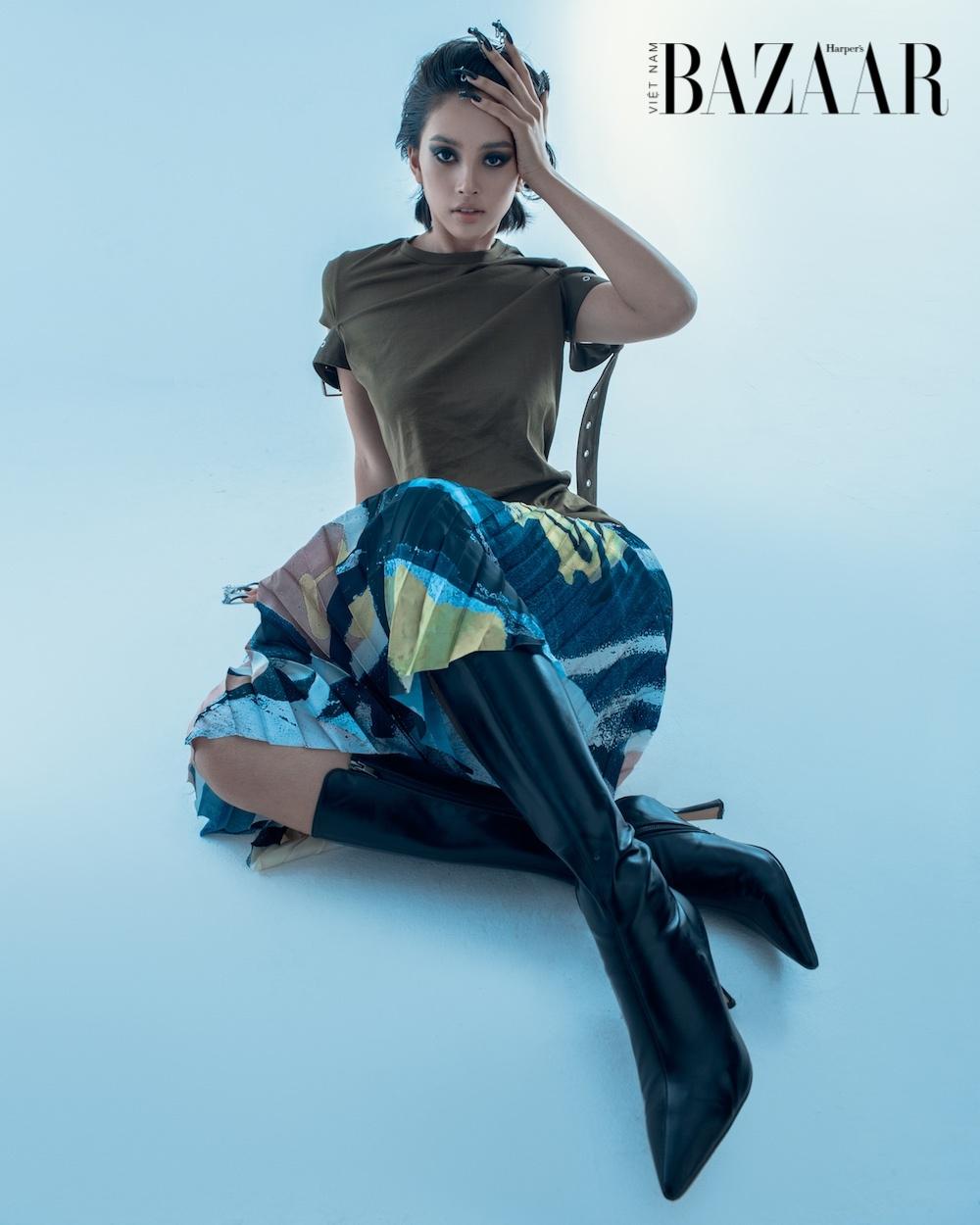 Hoa hậu Tiểu Vy tung bộ hình mới với concept