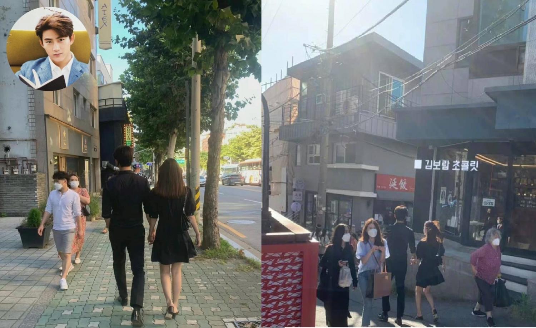 Taecyeon (2PM) công khai nắm tay cùng bạn gái dạo phố